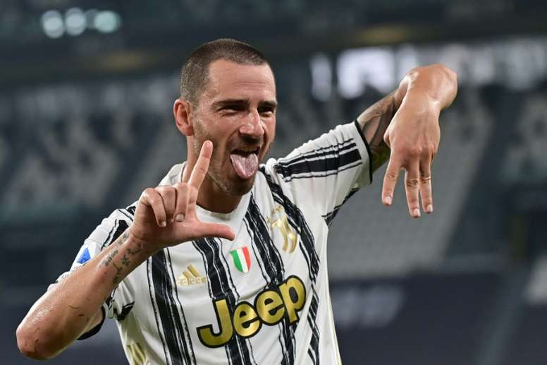 Bonucci and Chiellini will join up with Italy. AFP