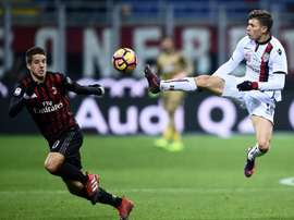 Barella has refused a kmove to a bigger club. AFP