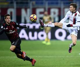 Milan are interested in Nicoló Barella. AFP