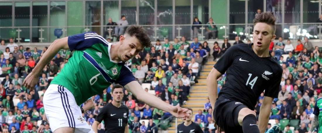 Tom Flanagan has been recalled to the Northern Ireland squad. AFP
