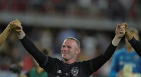 Rooney is now in the USA. AFP