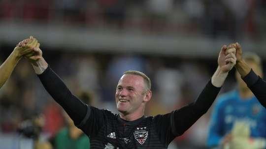 Rooney está dejando huella. AFP
