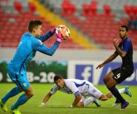 El guardameta ha brillado durante todo el campeonato. AFP