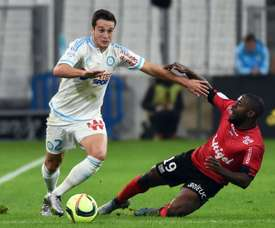 Javier Manquillo, sous le maillot de Marseille en Ligue 1. AFP