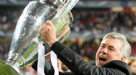 El XI que quiere Ancelotti para ganar el 'Scudetto' y soñar con la Champions. AFP