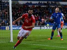 El centrocampista fue cambiado en el minuto 67 ante Iglaterra por precaución. AFP