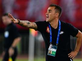 Fabio Cannavaro was named as China's new manager. AFP
