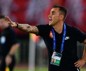 Cannavaro loupe ses débuts. AFP