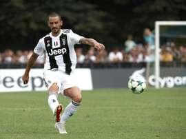 Leonardo Bonucci says he remains on good terms with Pogba. AFP