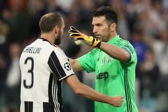Chiellini recordó que ya se fueron otras leyendas antes que Cristiano. AFP