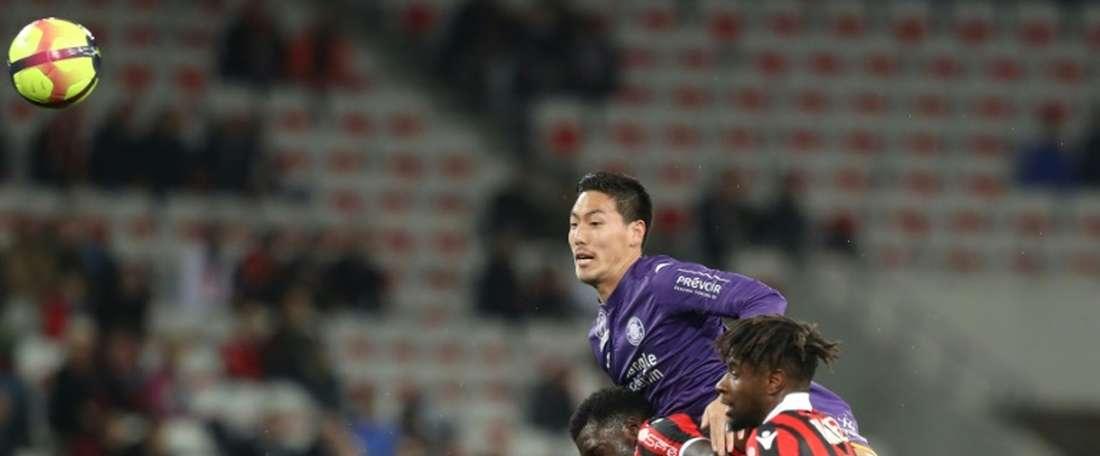 Japan's Shoji now eyes stopping Mbappe. AFP