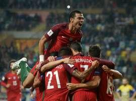 Portugal venceu a Hungria de forma tranquila. AFP