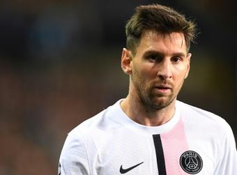 Messi firmó un contrato de dos años con opción a un tercero más. AFP