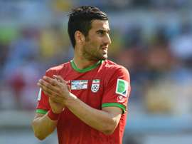 Iran defender Hajsafi signs for Greece's Olympiakos. AFP