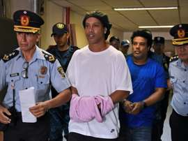 Paraguay court releases Ronaldinho into house arrest in Asuncion hotel. AFP