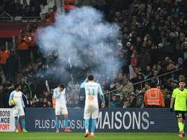 Balotelli scores but Marseille crisis deepens as firework explodes, fans strike.