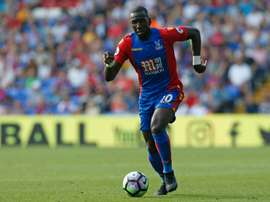 Bolasie could be set to team up with Tony Pulis once again. AFP