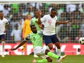 Ganaron los ingleses. AFP