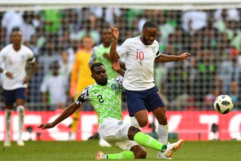 Nigeria fought back in the second half but couldn't find the leveller. AFP