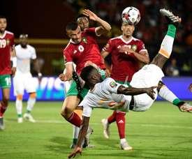 Les compos probables du match de la CAN entre la Namibie et la Côte d'Ivoire. AFP