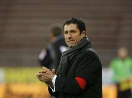Celtic manager Ronny Deila has defended John Collins, pictured on December 20, 2008, after his assistant was accused of being disrespectful to the other clubs in the Scottish Premiership