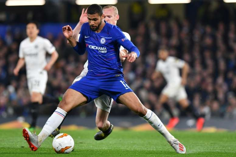 Loftus-Cheek will have surgery on his ruptured Achilles. AFP