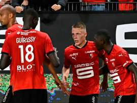 Youngster Truffert scored for Rennes. afp_en
