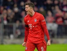 Lewandowski double edges Bayern past bottom side Paderborn. AFP