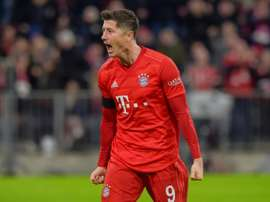Lewandowski double edges Bayern past bottom side Paderborn. AFP