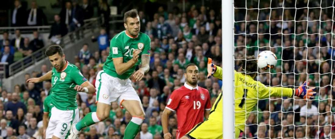 Ireland will face Poland on Tuesday. AFP