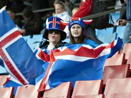 Iceland fans, pictured on June 14, 2011, can celebrate footballing history as the team qualifies for a major tournament final for the first time
