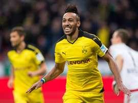 Dortmund's striker Pierre-Emerick Aubameyang has strange fashion sense. BeSoccer