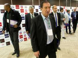 Carlos Bilardo has had numerous health scares in recent times. AFP