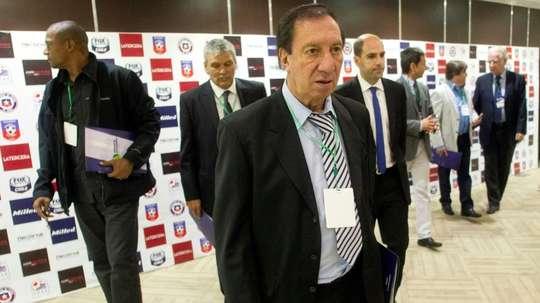 Carlos Bilardo has had numerous health scares in recent times. AFP