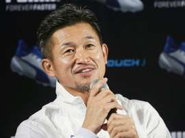 Former Japan striker Kazuyoshi Miura, who turns 50 next month, has renewed his contract with Yokohama FC, stretching his record as the oldest Japanese to play professional football