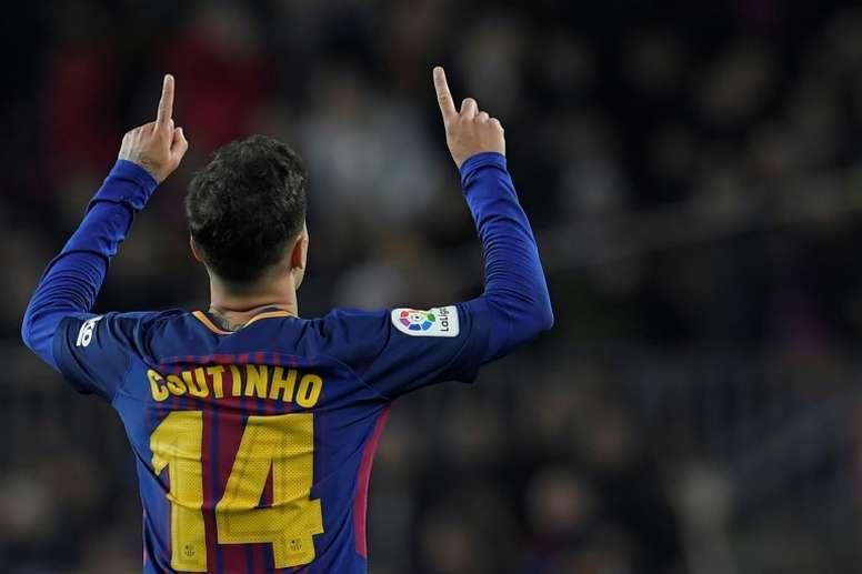 Coutinho is keen to see Neymar return. AFP