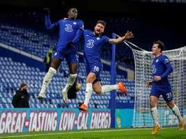 Chelsea won 3-1. AFP