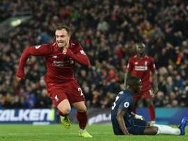 Liverpool recusa proposta do Sevilla por Shaqiri. AFP