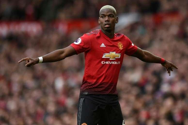 Pogba veut quitter Manchester. AFP