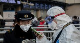 El fútbol en China aún no volverá. AFP