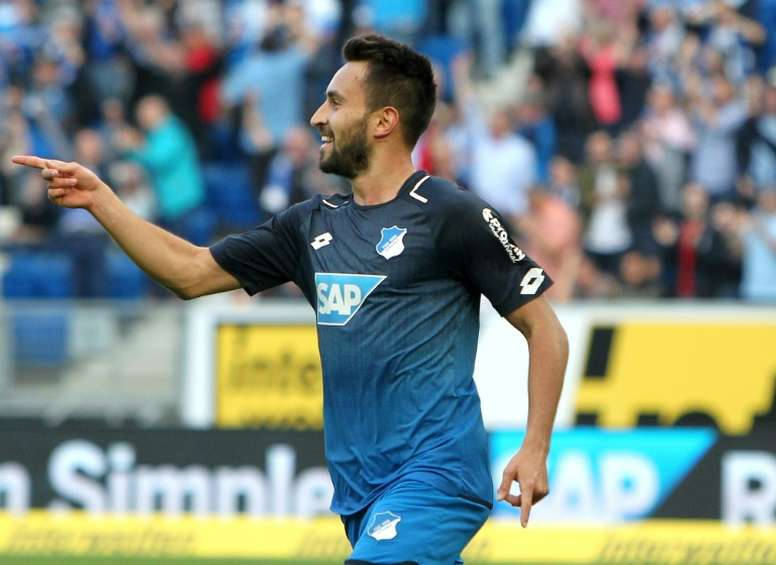 Norwich sign Hoffenheim midfielder Rupp. AFP