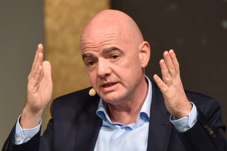 Gianni Infantino is being investigated by a Swiss special prosecutor. AFP