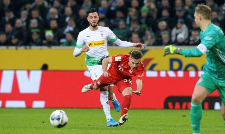 Bayern down to sixth after defeat at Bundesliga leaders Gladbach. AFP