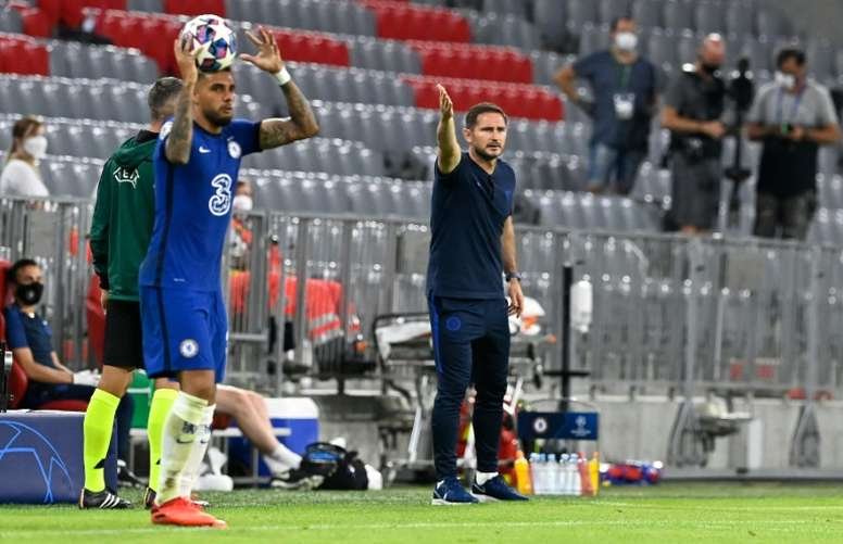Chelsea boss Lampard mulls Bayern mauling