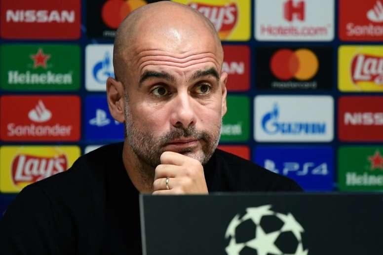 Pep Guardiola recorded his last figures at Barca. AFP