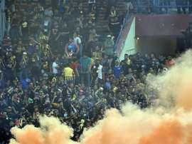 El partido entre Malasia y Arabia Saudí fue suspendido por el lanzamiento de bengalas