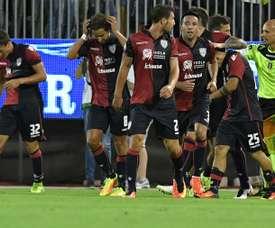 El Cagliari pretende cerrar una nueva incorporación. AFP