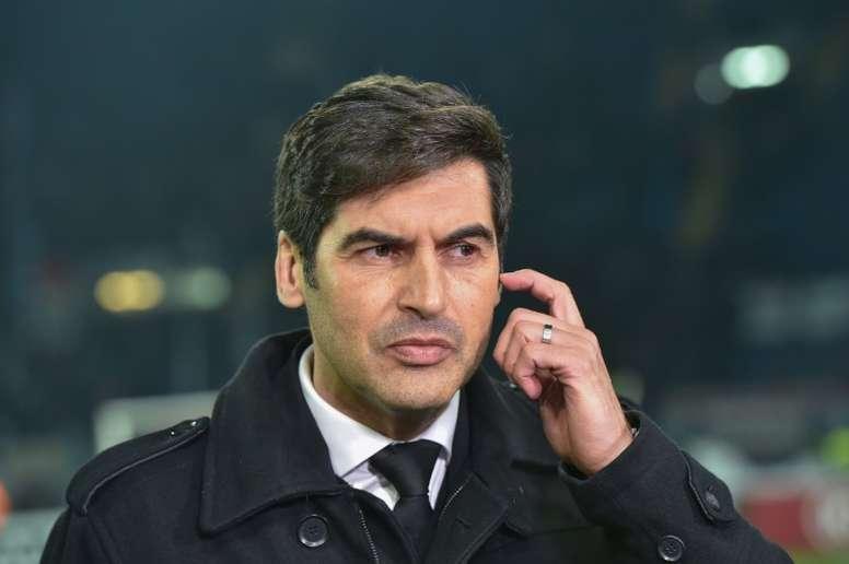 Paulo Fonseca é o novo treinador da Roma. AFP