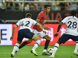 Manchester United's Mason Greenwood will get his chance in the Europa League. AFP