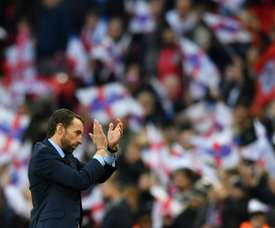Southgate wants big things. AFP